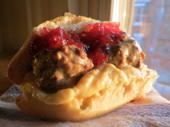 Swedish Meatball Sandwich